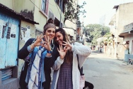 Heather Shaw and Camilla Triesch in India
