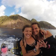 Virginia McNeill and Mattie Eubanks in Saba