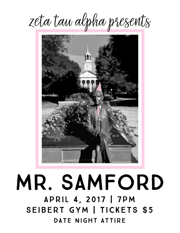 NEW Mr. Samford Flyer
