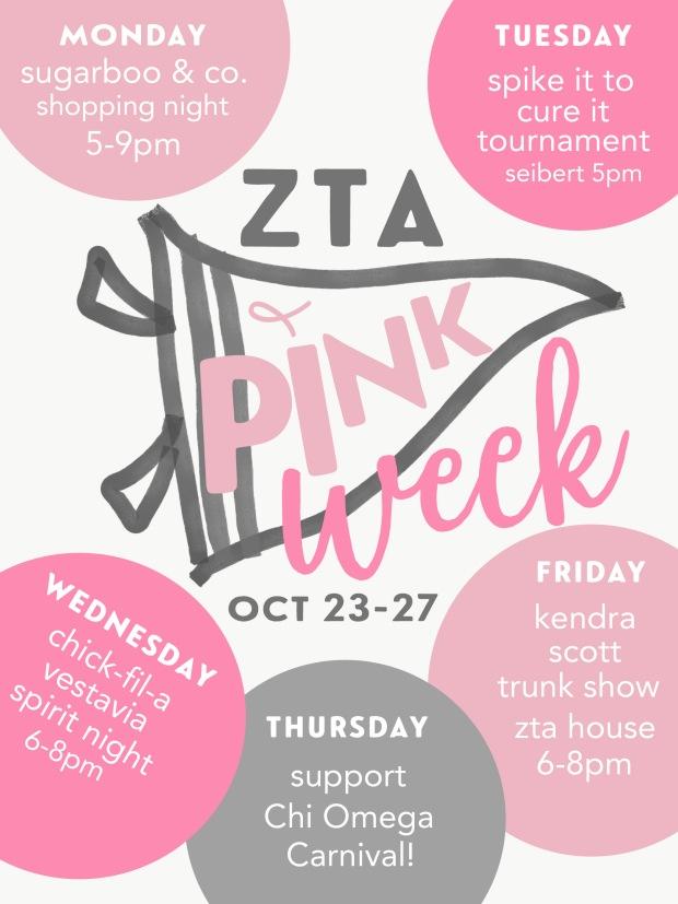 10-18 Think Pink Week