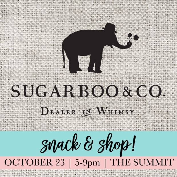 sugarboo flyer